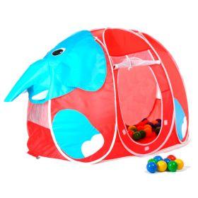 Дом-палатка + 100 шаров Слоник Calida