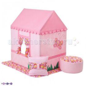 Текстильный домик с пуфиком Дворец Мирабель Paremo