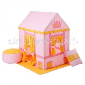 Текстильный домик с пуфиком Дворец Три Короны Paremo