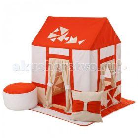 Текстильный домик с пуфиком Замок Сомерсет Paremo