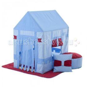 Текстильный домик с пуфиком Замок Бристоль Paremo
