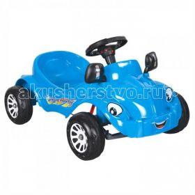 Педальная машина Happy Herby Pilsan