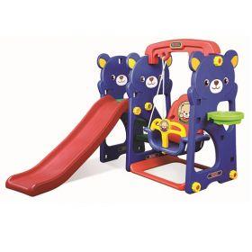 Игровая зона с качелями Медвежонок Тедди Gona Toys