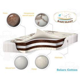 премиум класса Solare Cotton 125х65 Babysleep