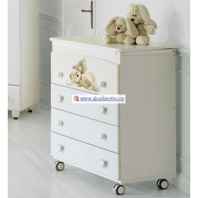 Cremino пеленальный (4 ящика) Baby Expert