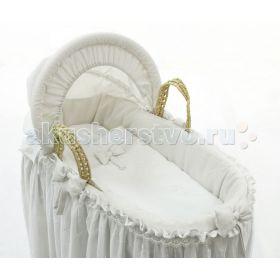 Корзина плетёная с капюшоном Premium Baby Fiorellino