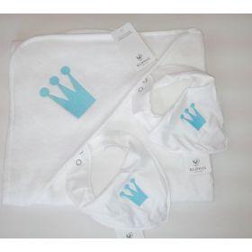 Комплект Королевский полотенце и нагрудник Klippan