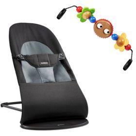 Кресло-шезлонг Balance Soft + подвеска Balance для кресла-качалки BabyBjorn