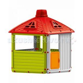 Игровой домик для улицы Городской дом Dolu