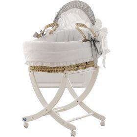 Плетеная люлька с капюшоном Baby Baby Pali