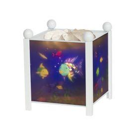 Светильник-ночник в форме куба Rainbow Fish Trousselier