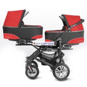 Коляска для двойни Twinny 2 в 1 BabyActive