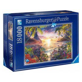 Пазл Райский закат 18000 элементов Ravensburger