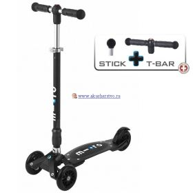 Kickboard Compact T-tube + Black Micro