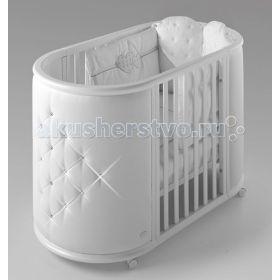 Perla кроватка с матрасами Bambolina