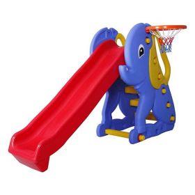 Elephant Slide с баскетбольным кольцом Pilsan