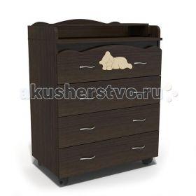 Спящий Мишка пеленальный (4 ящика) Baby Elite