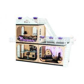 Кукольный домик Коттедж Коллекция (без мебели) Огонек