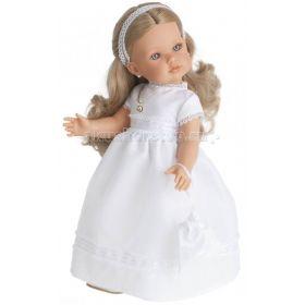 Кукла Белла Первое причастие блонд 45 см Munecas Antonio Juan