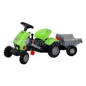 Педальная машина Трактор Turbo 2 с полуприцепом Coloma