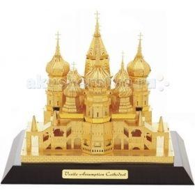 3D паззл-конструктор из металла Покровский собор Tucool