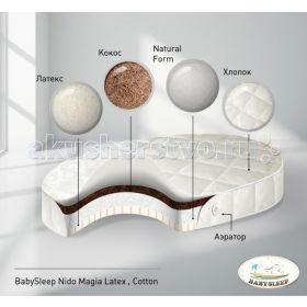 BabySleep Latex Cotton 125x75 см Nuovita