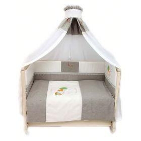 Зайка в кроватку льняной (7 предметов) Bombus