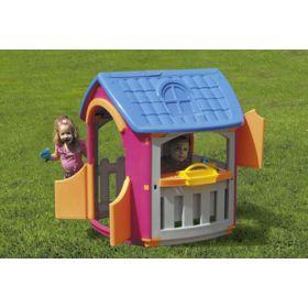 Игровой домик + гараж Palplay (Marian Plast)