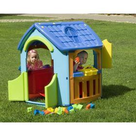 Игровой домик гараж + кухня Palplay (Marian Plast)