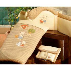 Biba - полулегкое одеяло с вышивкой с наволочкой BabyPiu