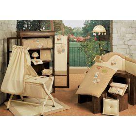 Biba - балдахин для кроватки с вышивкой BabyPiu