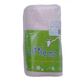 Little Me, Пеленка теплая трикотажная 90х120 (розовая) Little Me