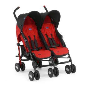 Chicco, Коляска для двойни Echo Twin Stroller Garnet Chicco