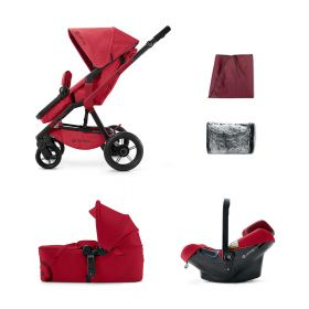 Concord Коляска 3 в 1 Wanderer Mobility Set Ruby Red 2015 Concord
