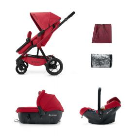 Concord Коляска 3 в 1 Wanderer Travel Set Ruby Red 2015 Concord