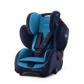 Recaro Автокресло Young Sport HERO Xenon Blue (синий) Recaro