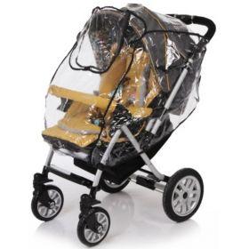 Baby Care, Дождевик для прогулочной коляски с окошком на липучке Baby Care