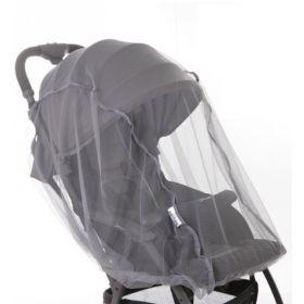 Baby Care, Москитная сетка Star для прогулочных колясок (серая) Baby Care