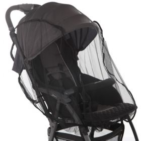 Baby Care, Москитная сетка Star для прогулочных колясок (черная) Baby Care