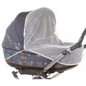 Baby Care, Москитная сетка Classic Plus для колясок-люлек (белая) Baby Care