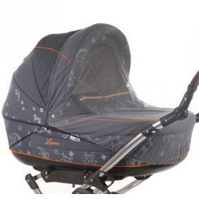 Baby Care, Москитная сетка Classic Plus для колясок-люлек (серая) Baby Care