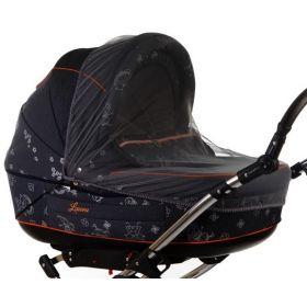Baby Care, Москитная сетка Classic Plus для колясок-люлек (черная) Baby Care
