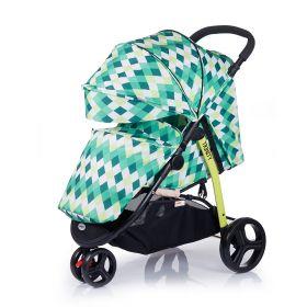 Babyhit Прогулочная коляска Trinity (зеленая с ромбами) Babyhit