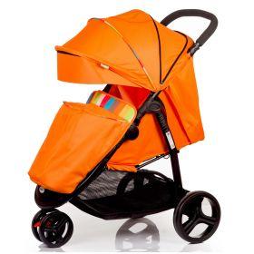 Babyhit Прогулочная коляска Trinity (оранжевая с полосками) Babyhit