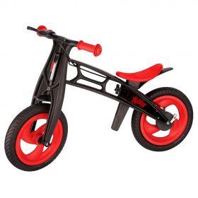 Hobby-bike Беговел RT FLY В Plastic red black, шины волна (черный, красный) Hobby-bike