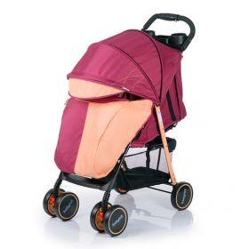 Babyhit Прогулочная коляска SIMPY (бордово-оранжевая) Babyhit