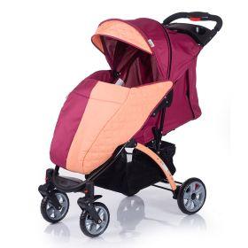 Babyhit Прогулочная коляска Tetra (бордово-оранжевая) Babyhit