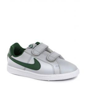 Nike Кеды COURT ROYALE (серо-зеленые) Nike