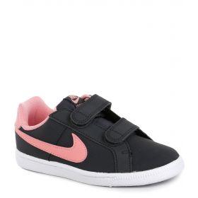 Nike Кеды COURT ROYALE (графит/розовый) Nike