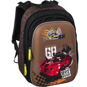 ErichKrause Школьный рюкзак Com.Pack с эргономичной спинкой Hot Wheels Racing ErichKrause